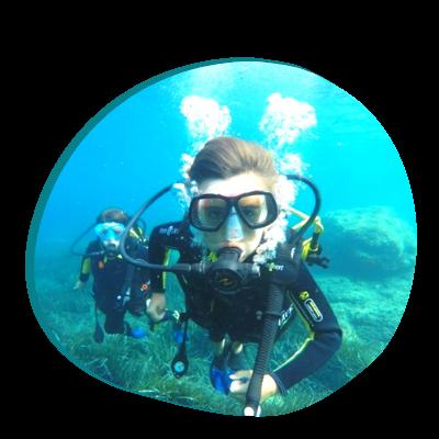 Centre de plongée 06230 decouverte plongee enfant