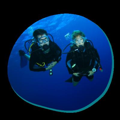 Centre de plongée 06230 plongee en couple 06