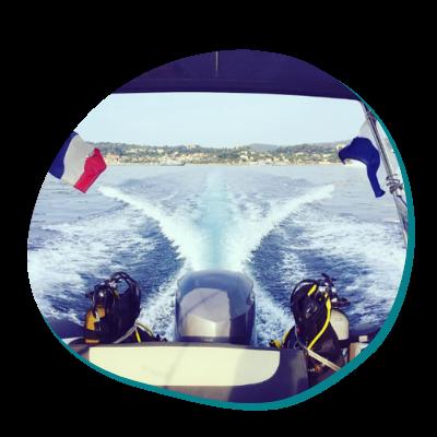 Centre de plongée 06230 service decouverte balade mediterrannee