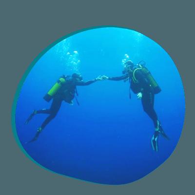 Centre de plongée 06230 bapteme plongee duo