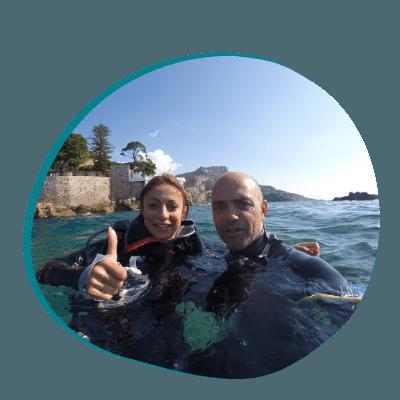Centre de plongée 06230 cours particulier plongee