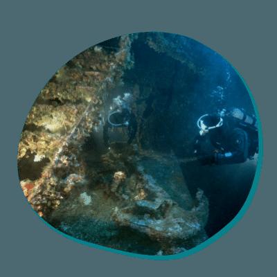 Centre de plongée 06230 formation plongee epave