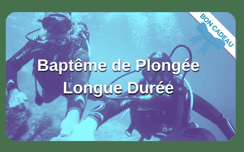Bon Cadeau Bapteme Plongee Longue