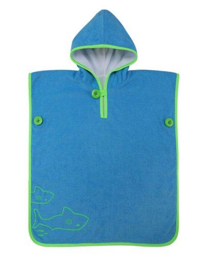 Centre de plongée 06230 Baby towel green