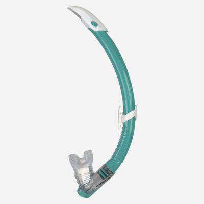 Centre de plongée 06230 tuba zephyr turquoise aqualung