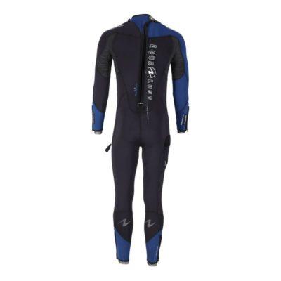 Centre de plongée 06230 combinaison dynaflex homme aqualung back