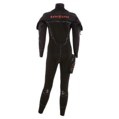 Centre de plongée 06230 combinaison iceland comfort femme aqualung back