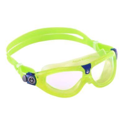Centre de plongée 06230 lunette seal kid yellow aquasphere